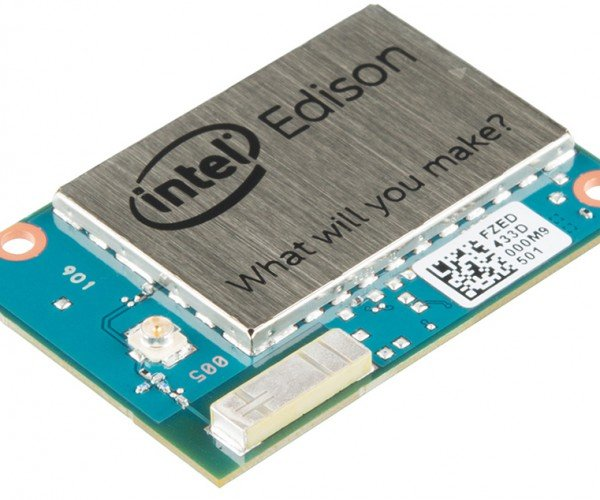 Intel Edison Released; Expandable with Sparkfun Blocks