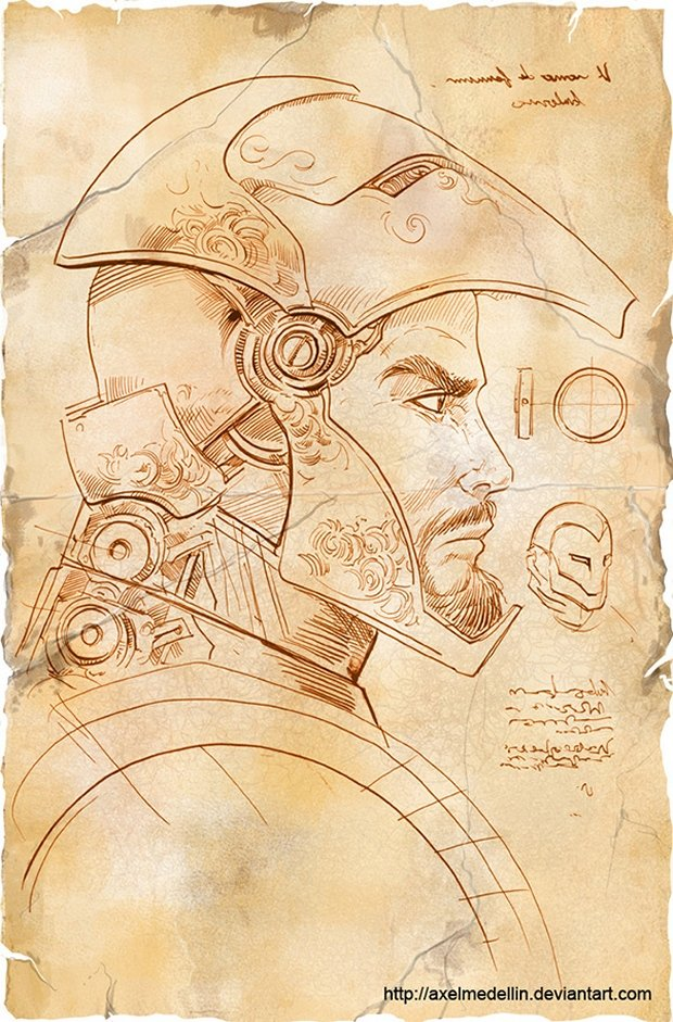 iron man davinci