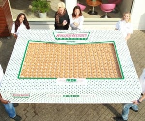 This Is a Box of 2,400 Krispy Kreme Donuts