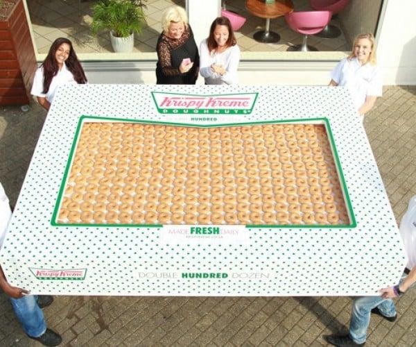 This Is a Box of 2,400 Krispy Kreme Donuts