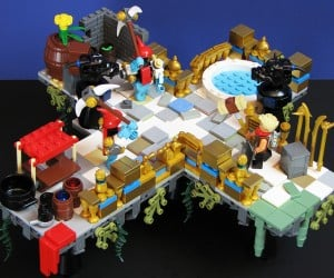 LEGO Bastion: Superdwarf Game