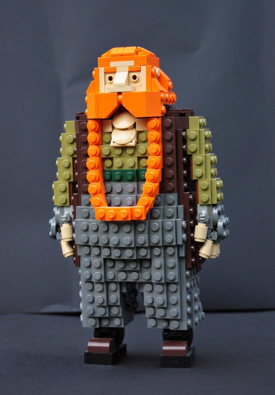 Lego Thorin Oakenshield S Company Loyalty Honor Beards