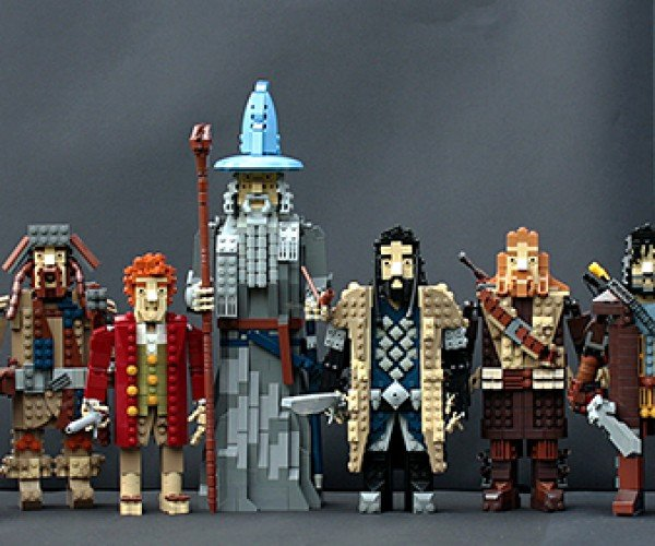 LEGO Thorin Oakenshield's Company: Loyalty. Honor. Beards.