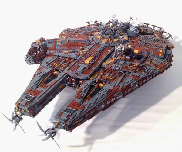 LEGO Steampunk Millenium Falcon: Wild Wild Wars