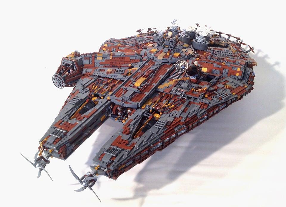 Lego Steampunk Millenium Falcon Wild Wild Wars Technabob