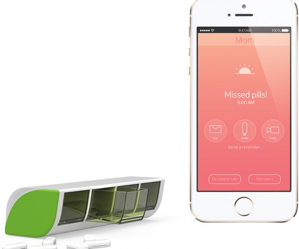 Liif Smart Pill Box Reminds You to Take Your Medicine: Popper Pinger