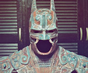 Ancient Mexican Batman Bust: Batmayan