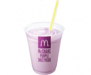 McDonalds Japan Rolling out Purple Sweet Potato Milkshake