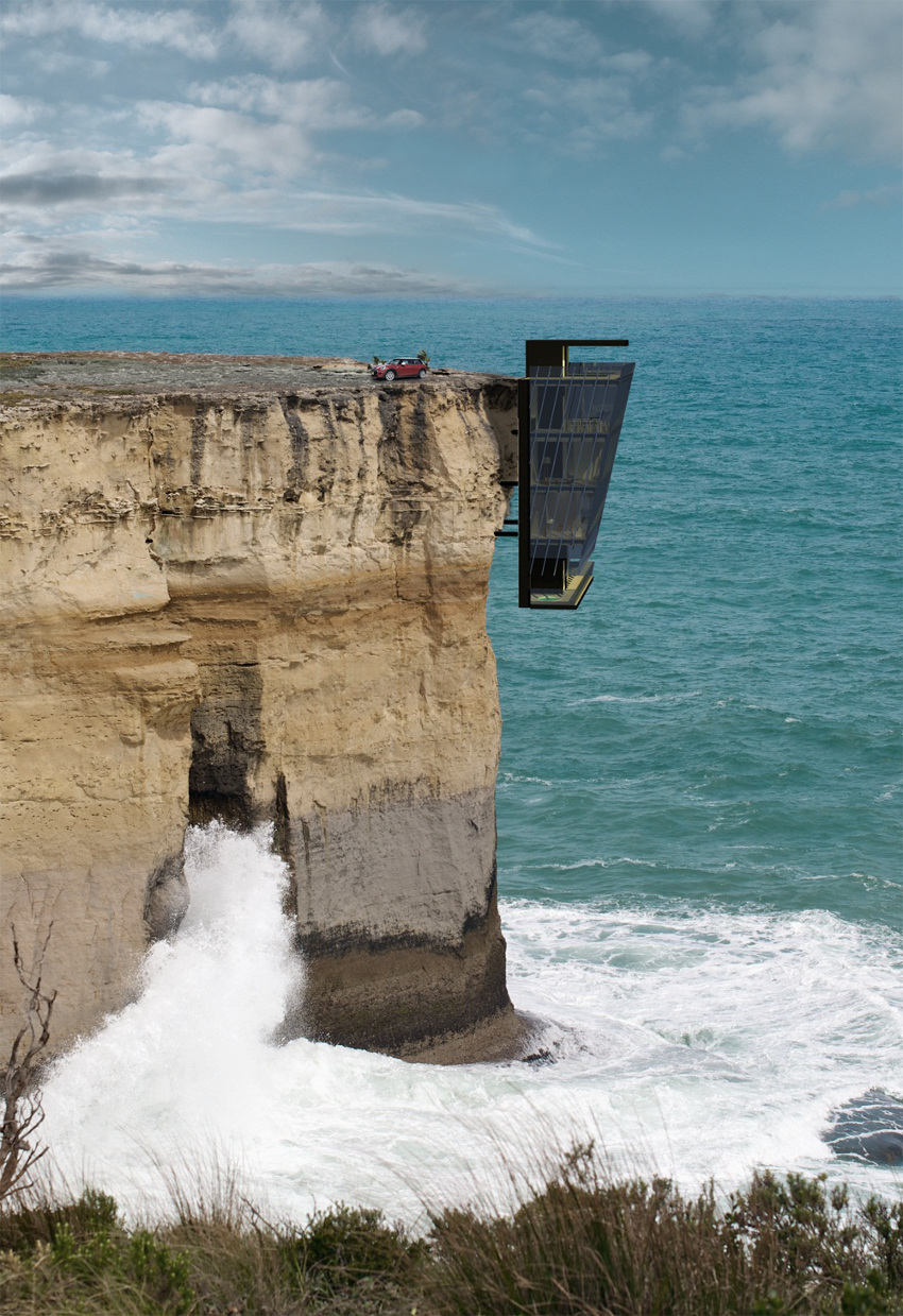 This Dangling, Cantilevered House Is Both Awesome and Terrifying - Technabob