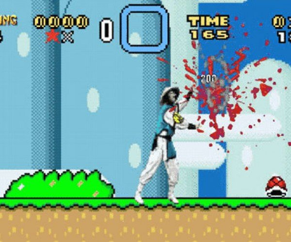 Super Mario vs. Mortal Kombat: Finish Them