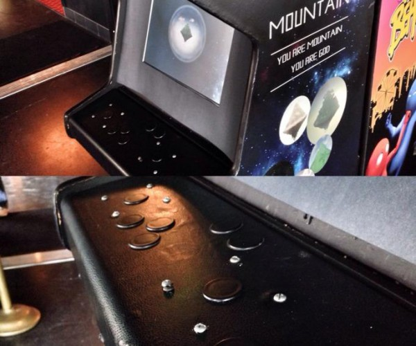 Mountain Arcade Cabinet Sits and Just Is