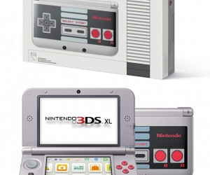 At Last: A Nintendo 3DS XL That Looks Like An NES Controller