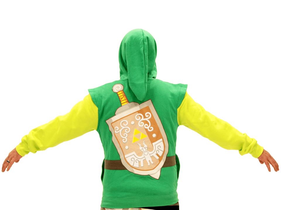 NIntendo Mario & Link Costume Hoodies: Comfy Cosplay