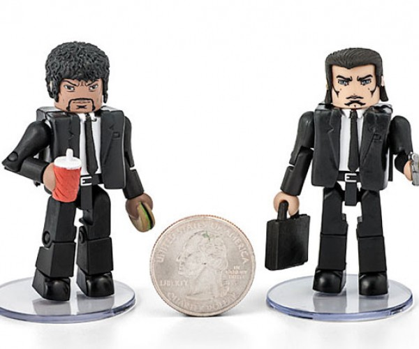 Pulp Fiction Minimates are Bad MiniF**kers
