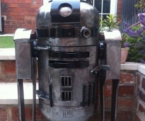 R2-D2 Wood Burner Is the Perfect Droid for Cold Nights on Hoth