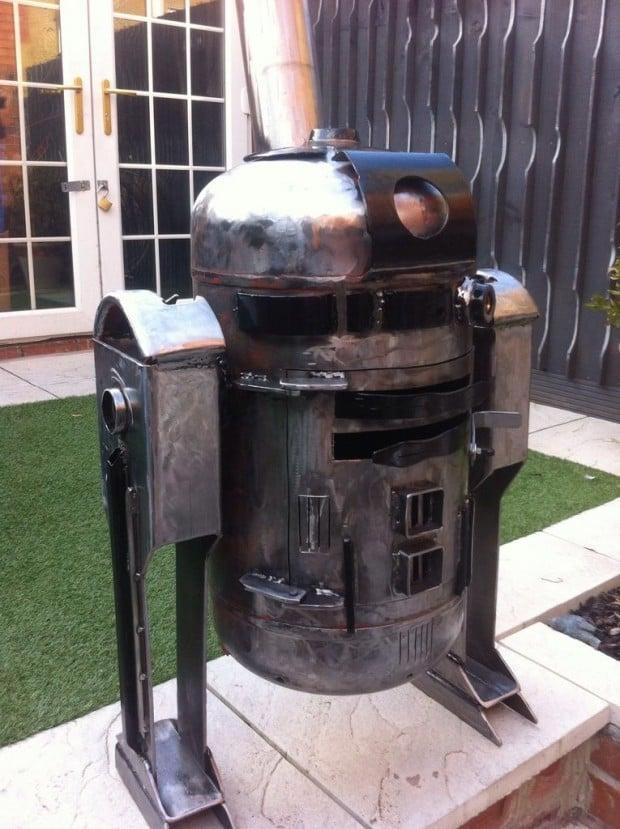 r2-d2 wood burner2