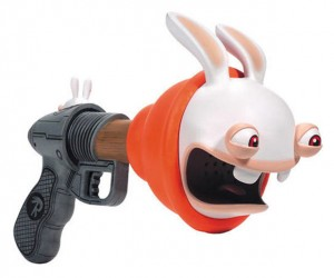 Rabbids Super Plunger Sound Blaster is Bwaaahsome