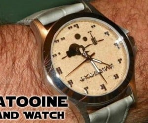 Tatooine Sand Watches: Because a Sundial Won't Work There