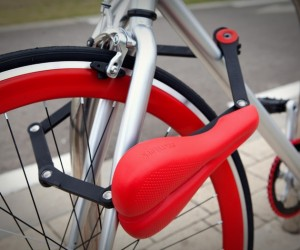 Seatylock Combines a Bicycle Seat and a Bike Lock