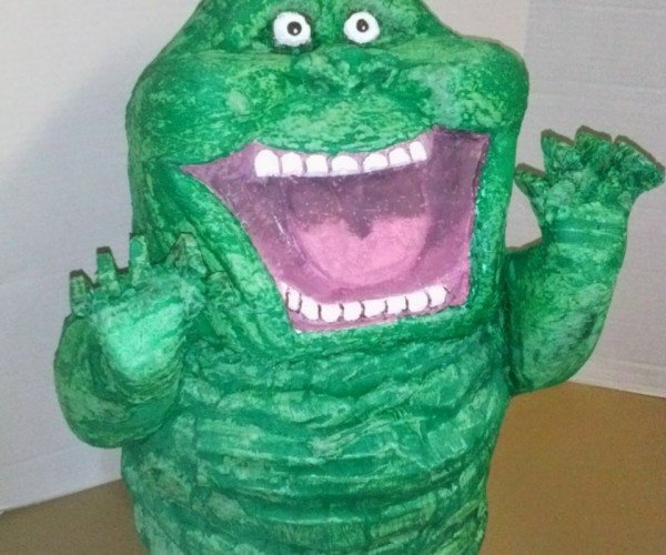 Beat the Slime out of This Ghostbusters Slimer Piñata