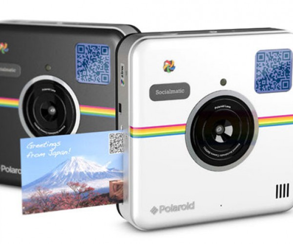 Polaroid Socialmatic Camera is Like the '80s but Better