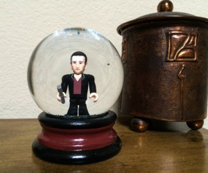 Doctor Who Mini Snow Globes: Doctor Snow