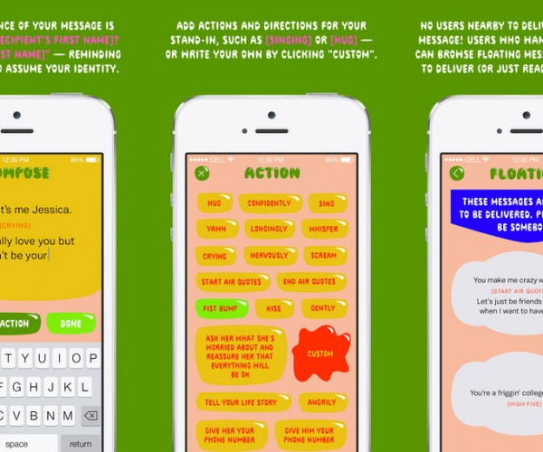 Send Messages via Strangers with the Somebody App
