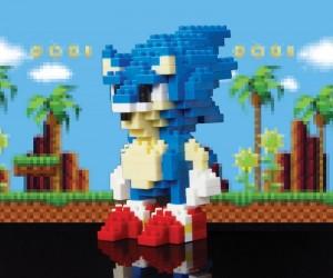 Sonic & Tails Pixel Bricks