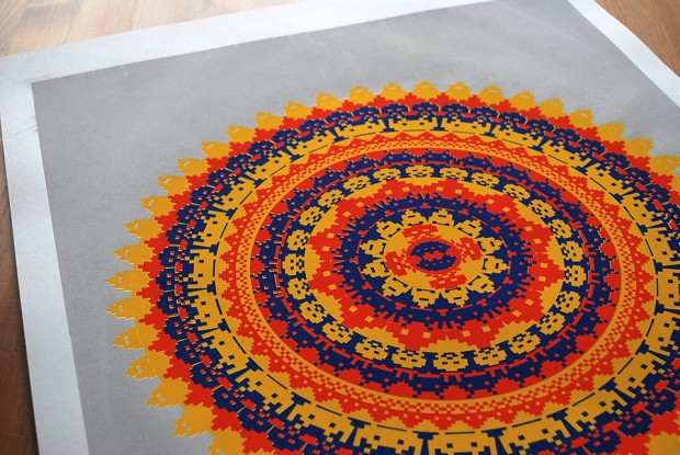 space-invaders-mandala-by-Olivier-Marchand