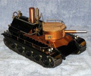 Steam-powered Tank: Steam Fortress