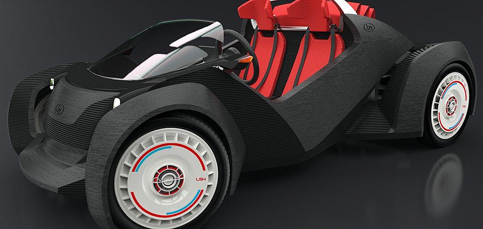 Local motors strati 3d printed car gone in 44 hours for Local motors 3d printed car