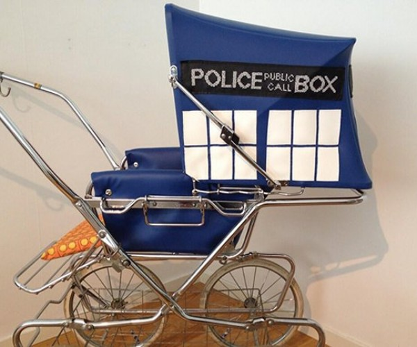 Doctor Who TARDIS Stroller: Younger on the Inside