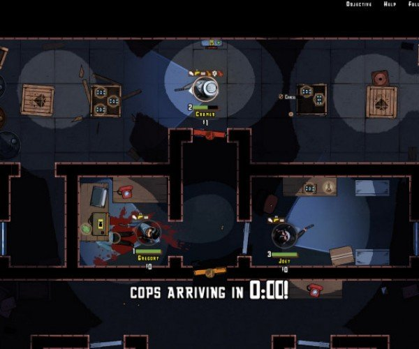 The Masterplan: A Heist Planning Game Set to Funky '70s Music