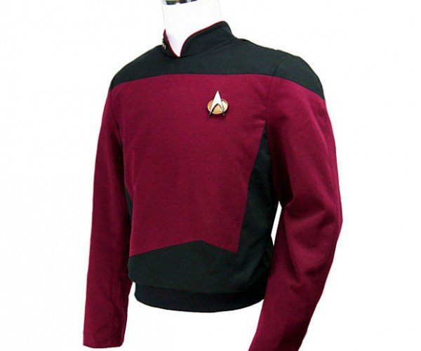 Star Trek: TNG Tunic Replica Raids Picard's Closet