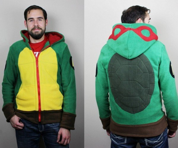 Teenage Mutant Ninja Turtle Hoodie: Hero in a Soft Shell