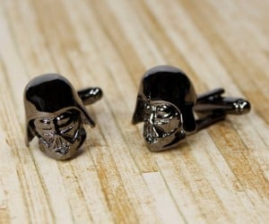 Darth Vader Cufflinks: The Dark Side of the Sleeve