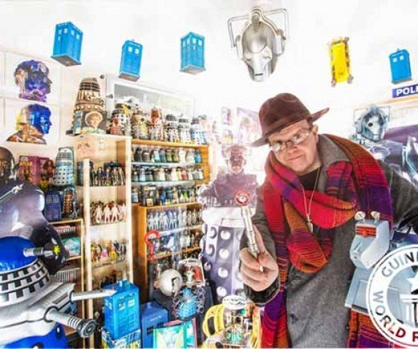 This Guy Has the Biggest Doctor Who Collection Ever
