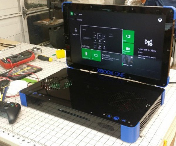 Xbox One Laptop Mod: Xbook One