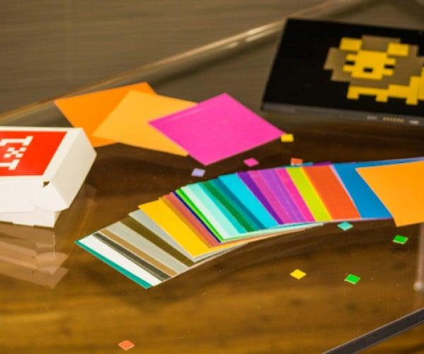 1×1 Pixel Art Stickers: Manual Interpolation