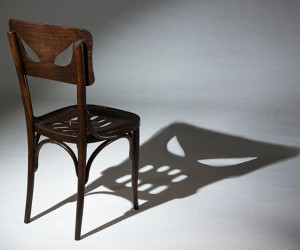 Yaara Derkel's 'Coppelius' Chair Casts a Shadow of Fright