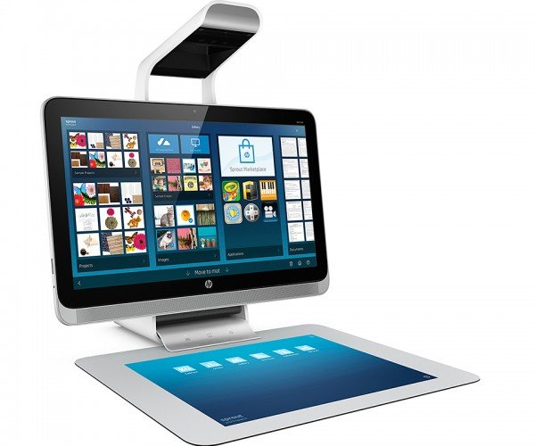 HP Sprout PC Has 3D Scanner, Projector and Touch Mat: Maker Seeds