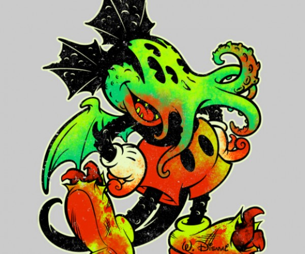 Mickthulhu Mouse Is a Fun New Way to Horrify Children