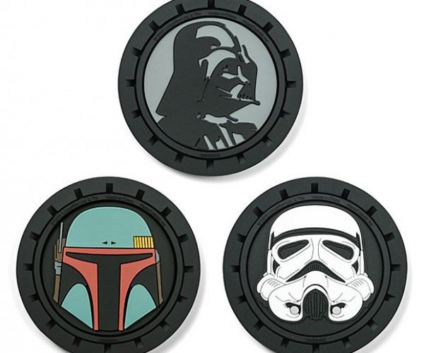 Star Wars Auto Coaster Set Keeps Your Landspeeder Clean