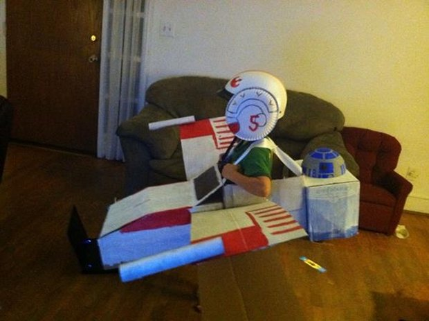 X-wing and TIE Fighter1
