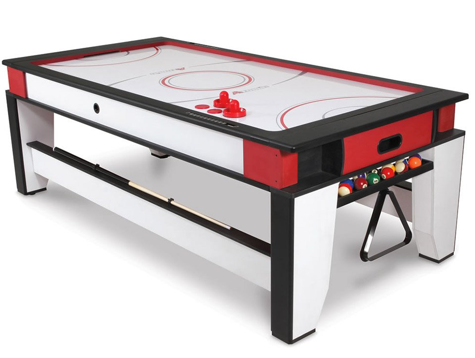 Ultimate Game Room Table Flips From Air Hockey To