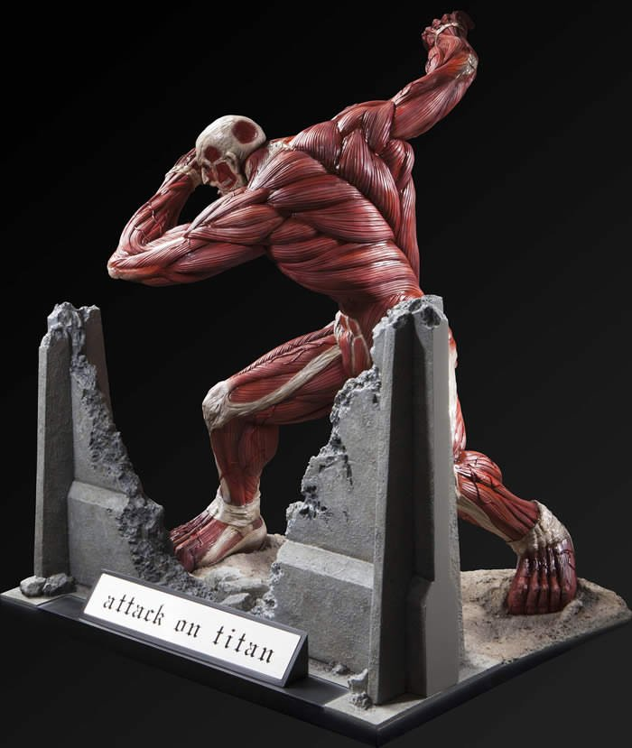 Attack on Titan Colossal Titan is Ready to Breach Your ...