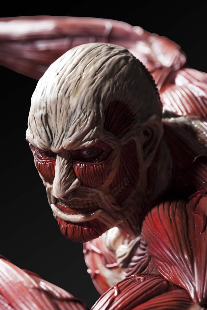 Attack On Titan Colossal Titan Is Ready To Breach Your