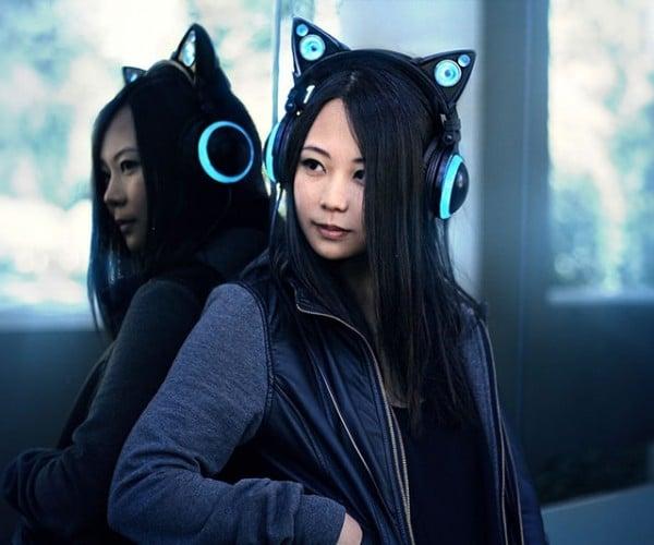 Cat Ear Headphones Look Purrfect