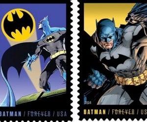 USPS Batman Forever Stamps: Dunna Nunna Nunna Nunna… Batstamps!