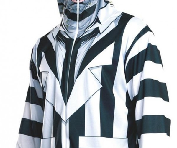 Beetlejuice Costume Hoodie: It's Showtime!